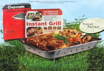 Portable Disposable Instant Barbeque Grill One Time Bbq Single Use