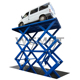 3.5 tons hydraulic garage car lift double scissor portable car lifts