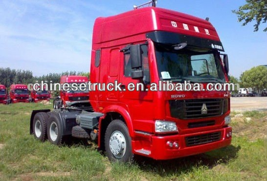 howo tractor truck 6*4 3 36HP LOW price for sale
