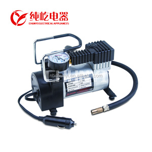 Hot sale promional 101-150PSI MAX pressure 12voltage Potable Car air compressor car tyre inflator metal heavy duty compressor