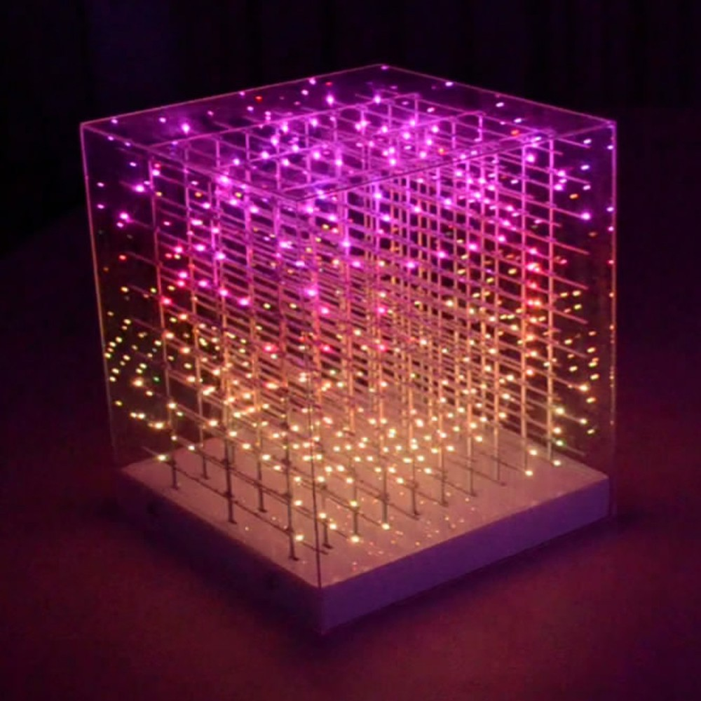 Seekway Full-color Led Cube Rgb 10x10x10 For Indoor Laying