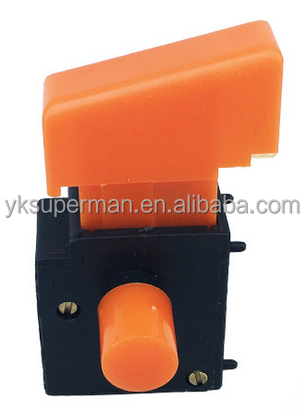 Electric Tool Spare Parts Self Locking Switch Fa2-4/1bek 6a 250vac 5e4 Hand & Power Tool Accessories