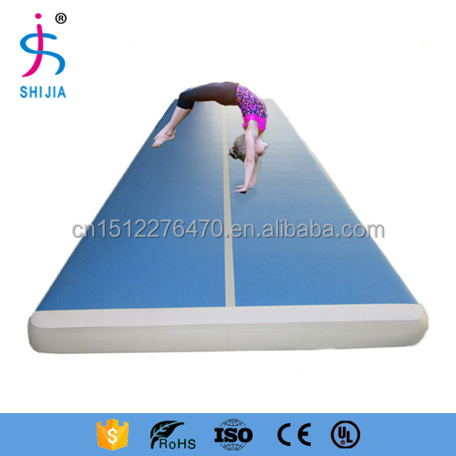 Gymnastics Tumbling Mat Air Floor for Home Use, Beach, Park and Water