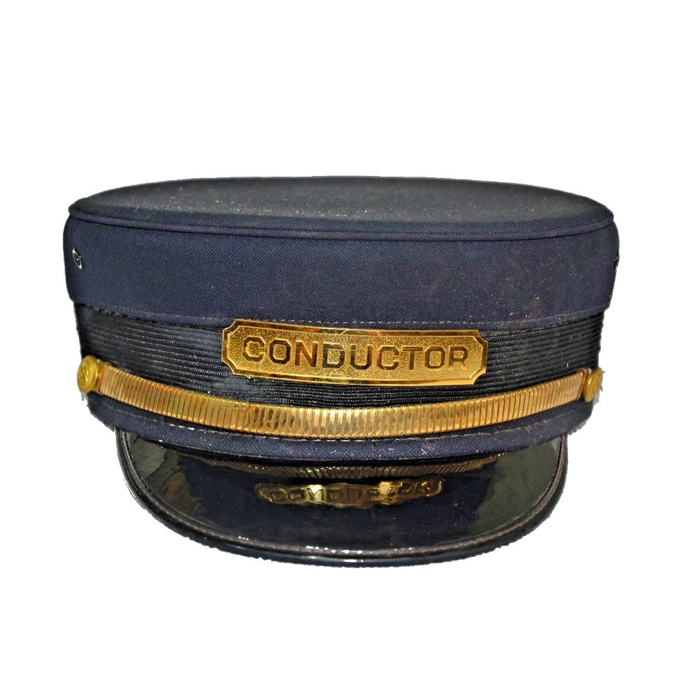 Vintage Railroad Train Conductor Uniform Hat - Buy Uniform Hat ... 7fc7c5f44e8e