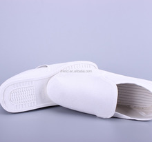 Comfortable White Canvas Antistatic Work Shoes For Cleanroom