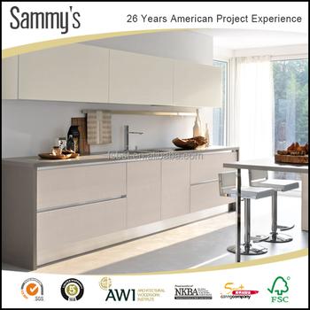 Kecil Yang Modern Desain Dapur Kabinet Untuk Ruang