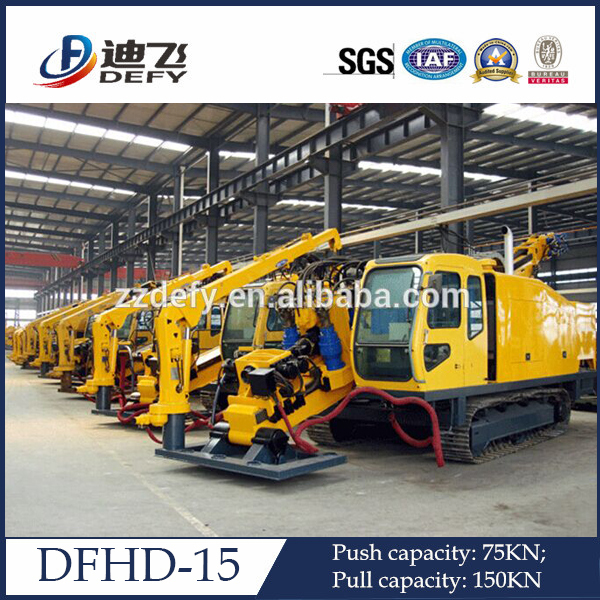 Dfhd-15 Hdd Horizontal Directional Drilling Pipeline Underground Laying  Drilling Trenchless Rig Machine - Buy Horizontal Directional Drilling  Rig,High