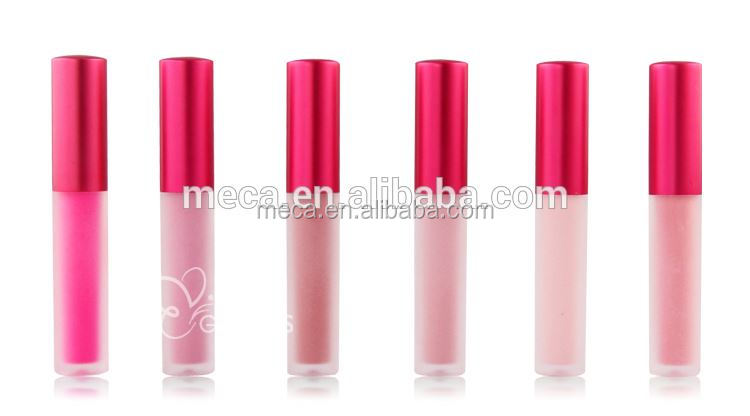lipstick manufacturer frosted lip gloss container matte liquid lipstick led light colorful lipgloss