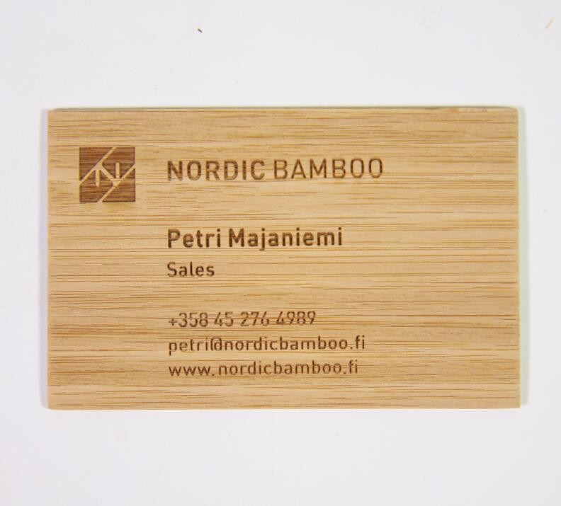 Wood Business Card, Wood Business Card Suppliers and Manufacturers ...