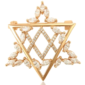 brooches-73 xuping  cz jewelry