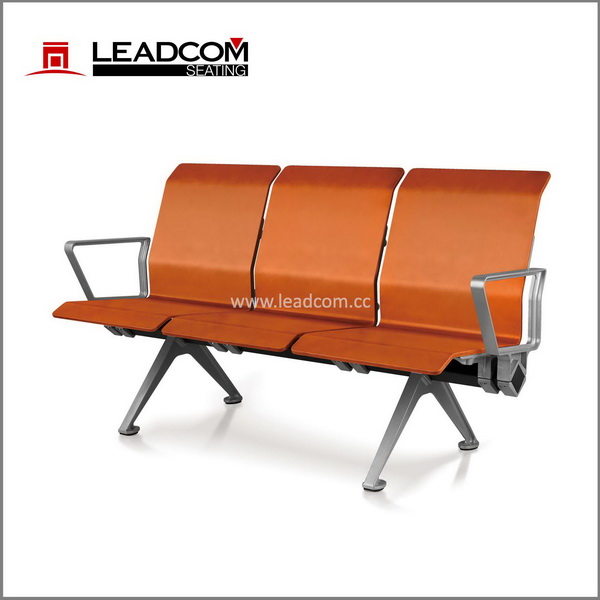 Leadcom innovative peg system wood 3 seater airport bench (LS-529M)