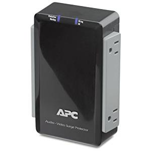 """American Power Conversion Corp - Apc P4v 4-Outlets Surge Suppressor - Receptacles: 4 X Ac Power """"Product Category: Power Equipment/Surge Suppressors/Protectors"""""""