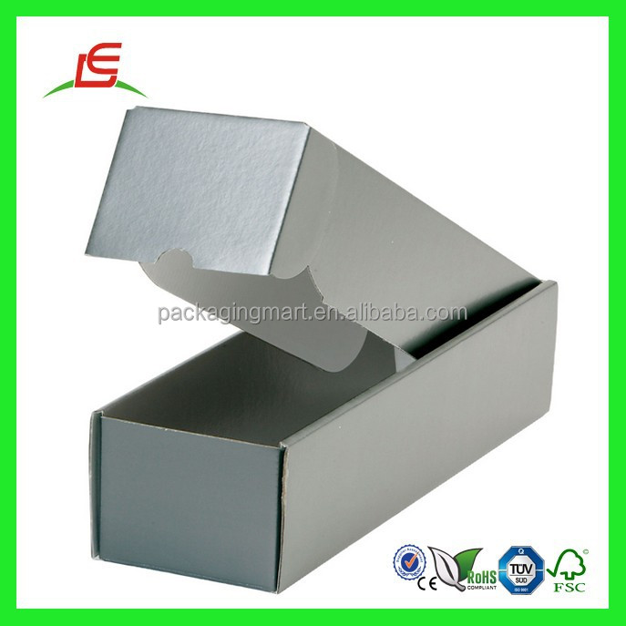 Q628 China Packaging Products New Design Elegant Unique Black Cardboard Box For Wine