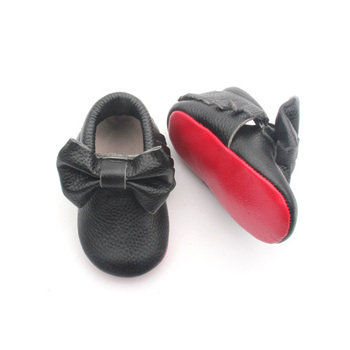 76a19a1881b9 Red Bottom Shoes Baby Genuine Leather Shoes Baby Moccasin Shoes With ...