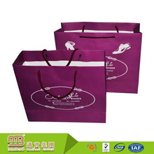 China Manufacturer Wholesale Price Customized Logo Shopping Luxury Advertising Paper Carry Bag Printing