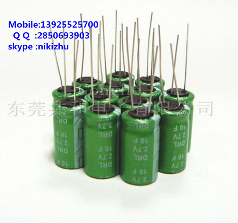 super high-rate discharge capacitor 2.7v10f Super capacitor