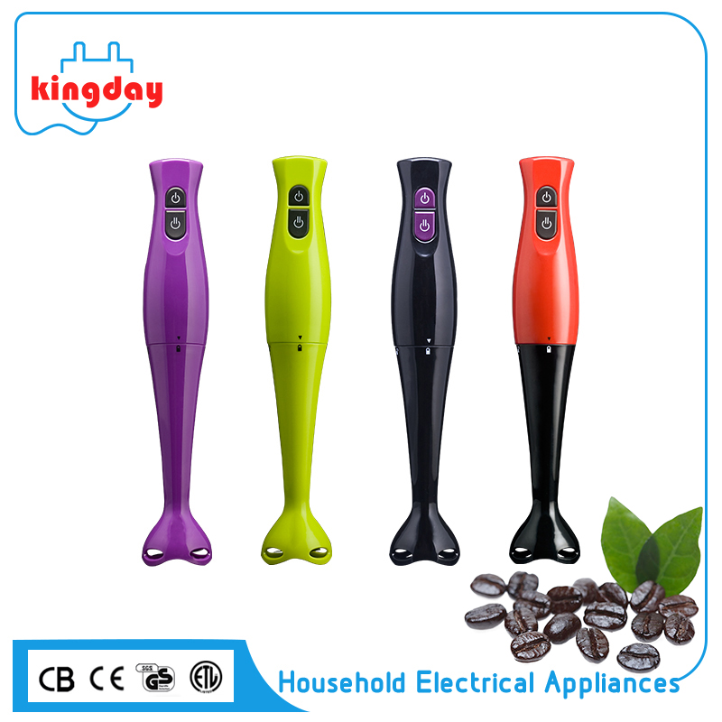 Hot sale 200W plastic housing electric mini hand stick immersion blender