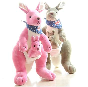 Giant Plush Pink Kangaroo Soft Toy Large Stuffed Kangaroo Toy Buy