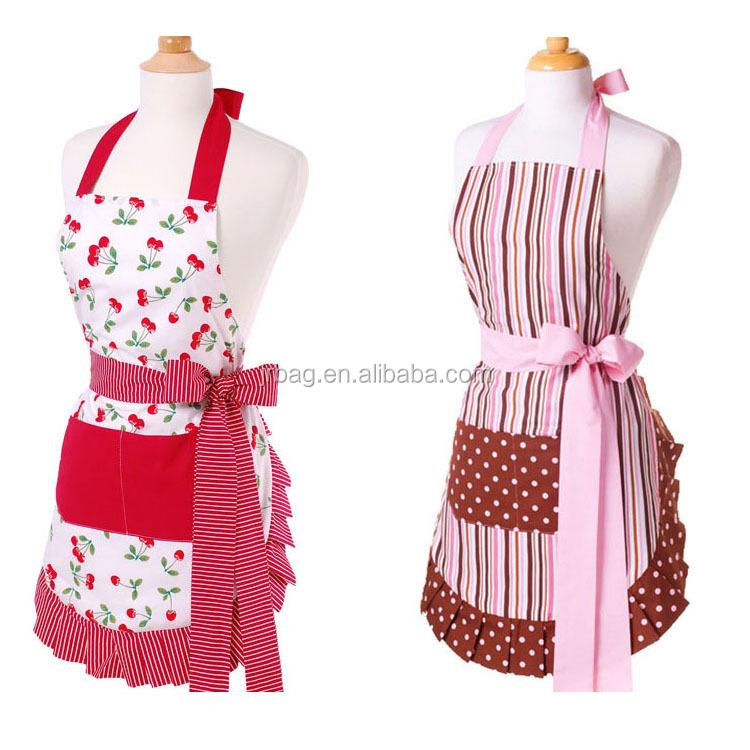 Ladies vestido de delantal de cocina delantales identificaci n del producto 701018144 spanish - Modelos de delantales de cocina ...