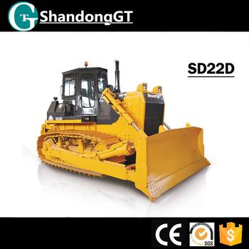 Big Heavy Earth Handling Equipment Shantui 220hp Crawler Track Dozer Sd22c  Bulldozer With Blade Winch - Buy Bulldozer With Winch,Bulldozer With Blade
