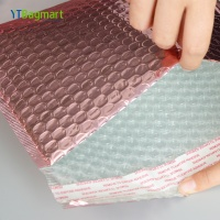 Self Adhesive Strip Custom Logo Printing Clothes Courier Postage Express Packaging Plastic Poly Bubble Mailer Bags for Delivery