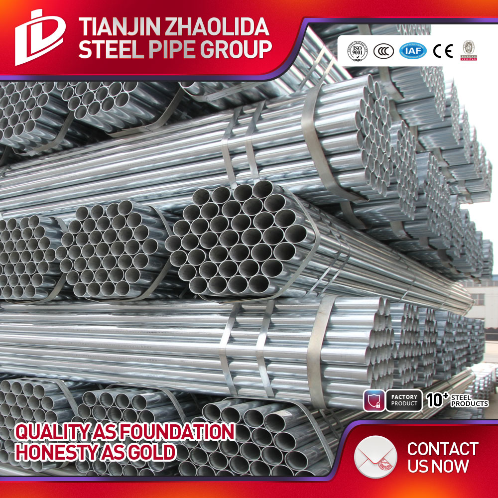 Best GI pipe factory Decorative embossed steel tube with ce certificate