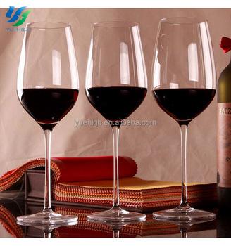 Bulk Drinking Glass Wonky Wine Glass Slanted Wine Glass For Wedding