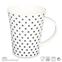 12oz new bone china cup/ceramic coffee mug with colorful prining