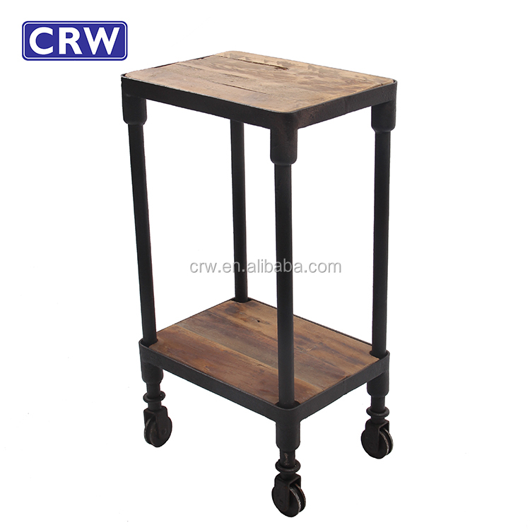 Charmant Antique 2 Level Side Table With Wheels   Buy Side Table With Wheels,Antique Side  Table,2 Level Table Product On Alibaba.com