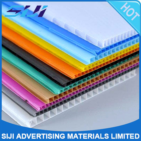 plastic recycled polycarbonate sheet PP hollow sheet