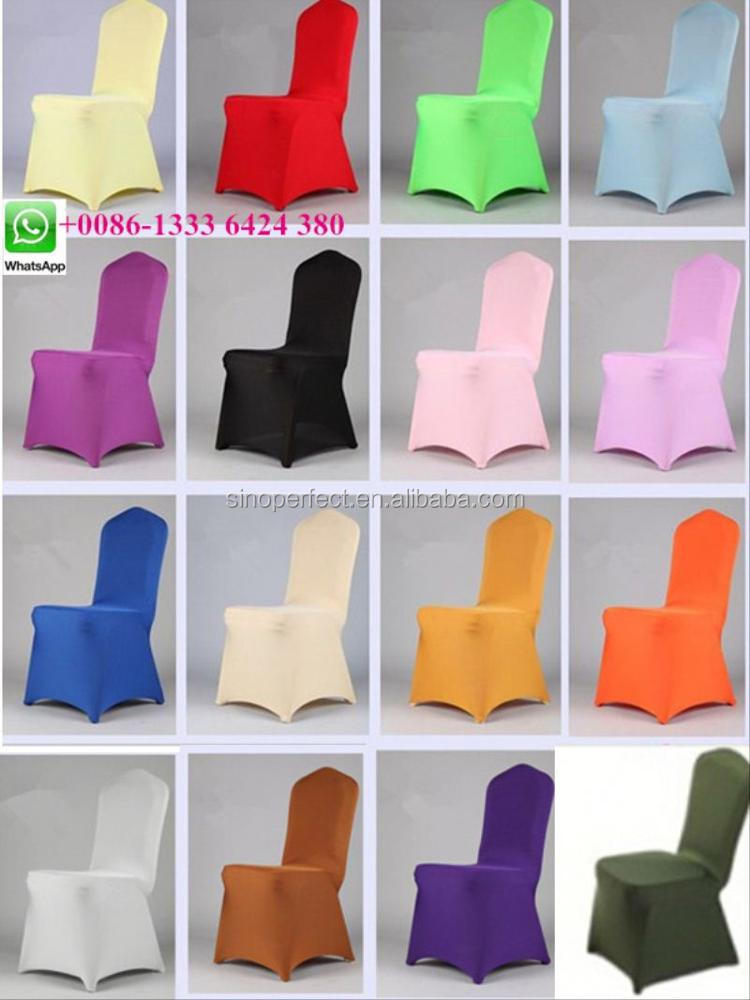 Foshan near Guangzhou China polyester universal chair cover white from China