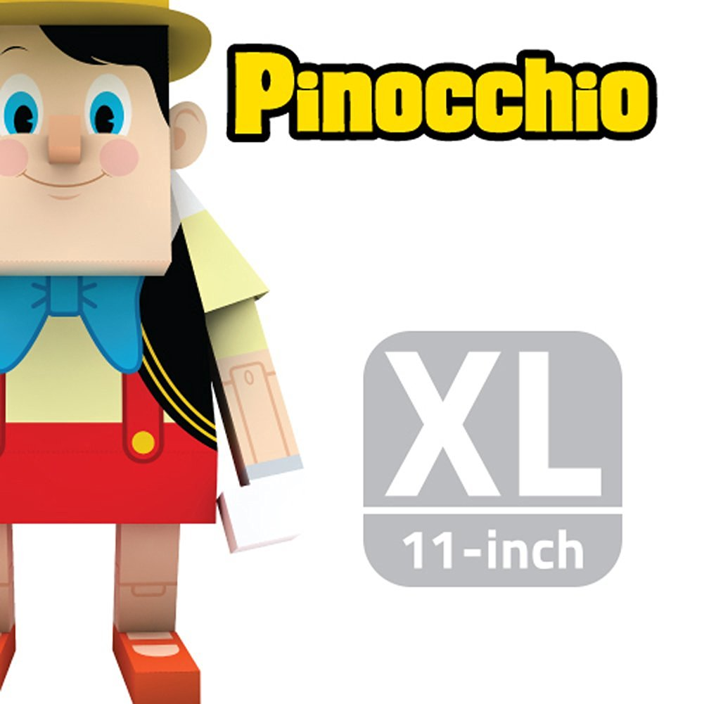 MOMOT Paper Craft Toy - Disney PINOCCHIO 11-inch (XL Size 30cm)