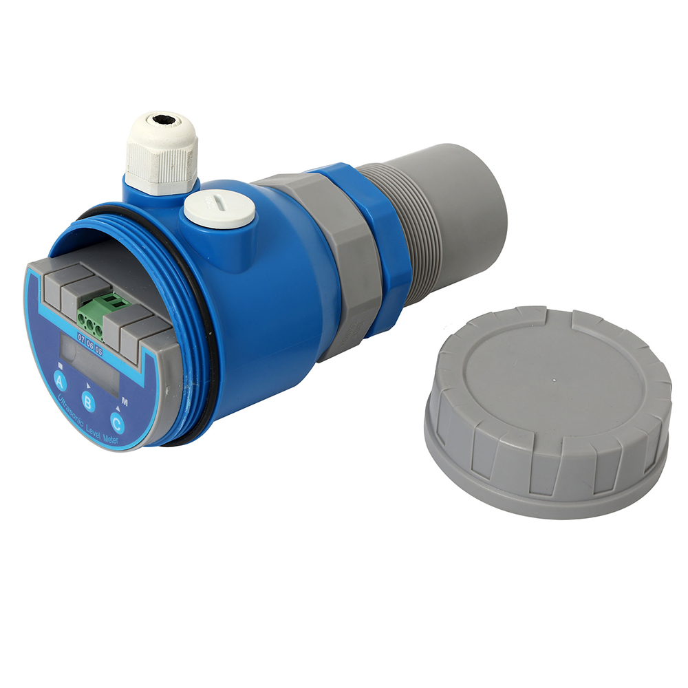 น้ำ Ultrasonic ถัง Level Meter Ultrasonic Level Sensor