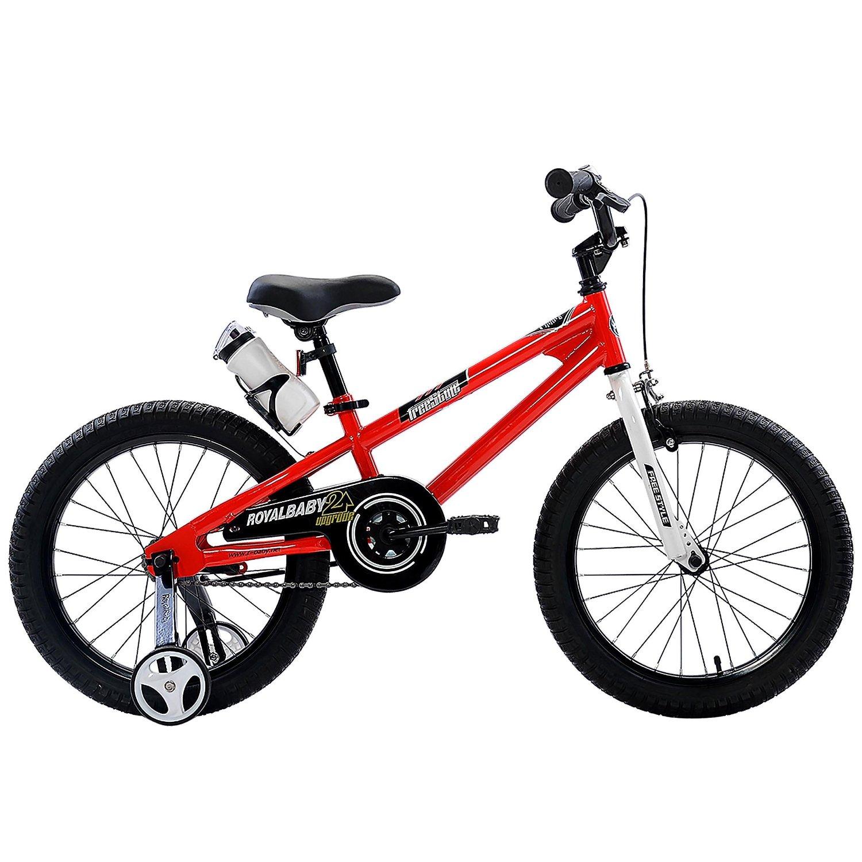 595c9ef7e3a RoyalBaby BMX Freestyle Kids Bike, Boy's Bikes and Girl's Bikes with  training wheels, 12