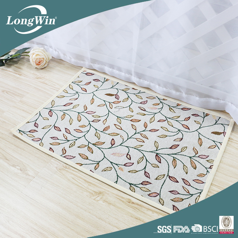 Tapestry rubber kichen mat wholesale kitchen door mat