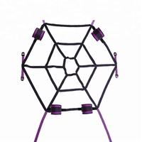Spider web sex bed bondage SM products