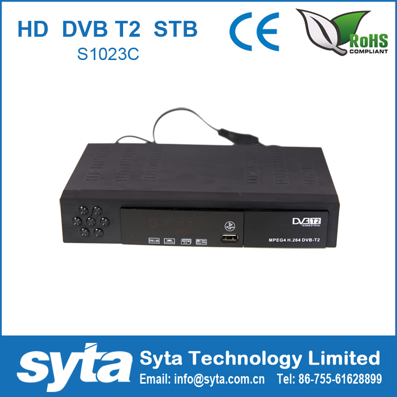 SYTA TV Encoder Mstar7T01 FTA Set Top Box MPEG4 HD DVB T2 S1023C