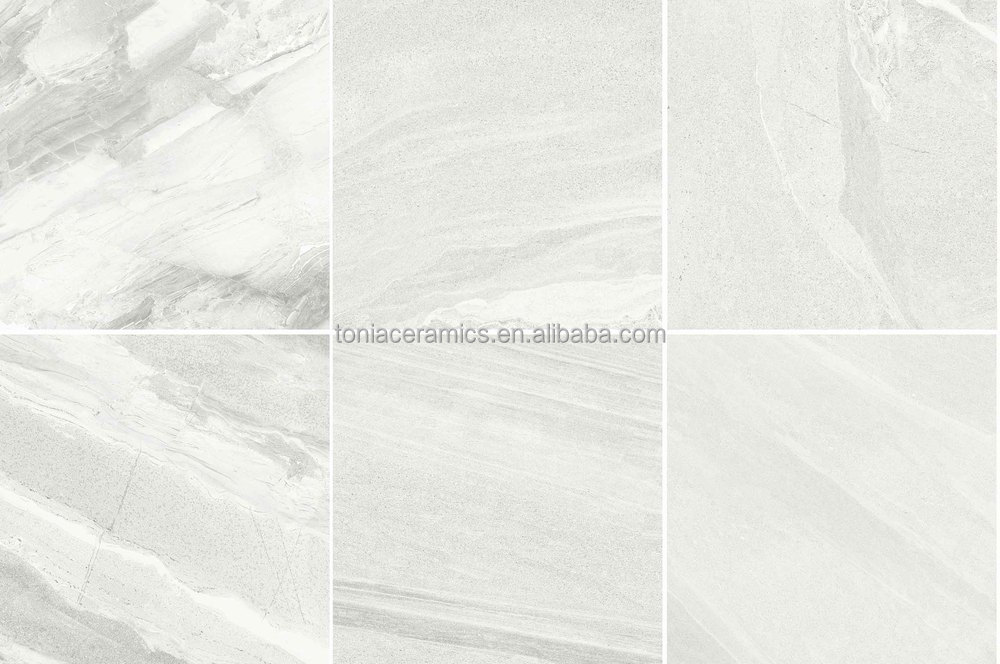 Arlington Silver Marble stone effect Ceramic Wall amp floor