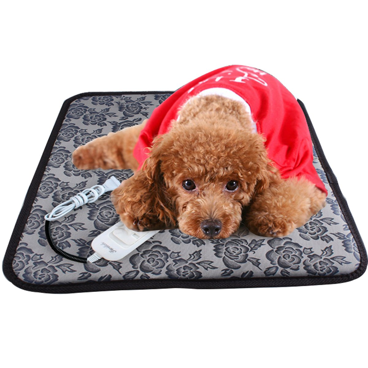 Get Quotations Dog Heating Pad Aopet Pet Electric Blanket Heater Mat Cat Warming Waterproof Heated Beds With Chew