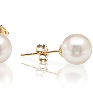 Pearl Stainless Steel Stud Earring Ear Stud Earring Women