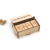 Personalized Dominoes blocks with Wooden Box for kids toy