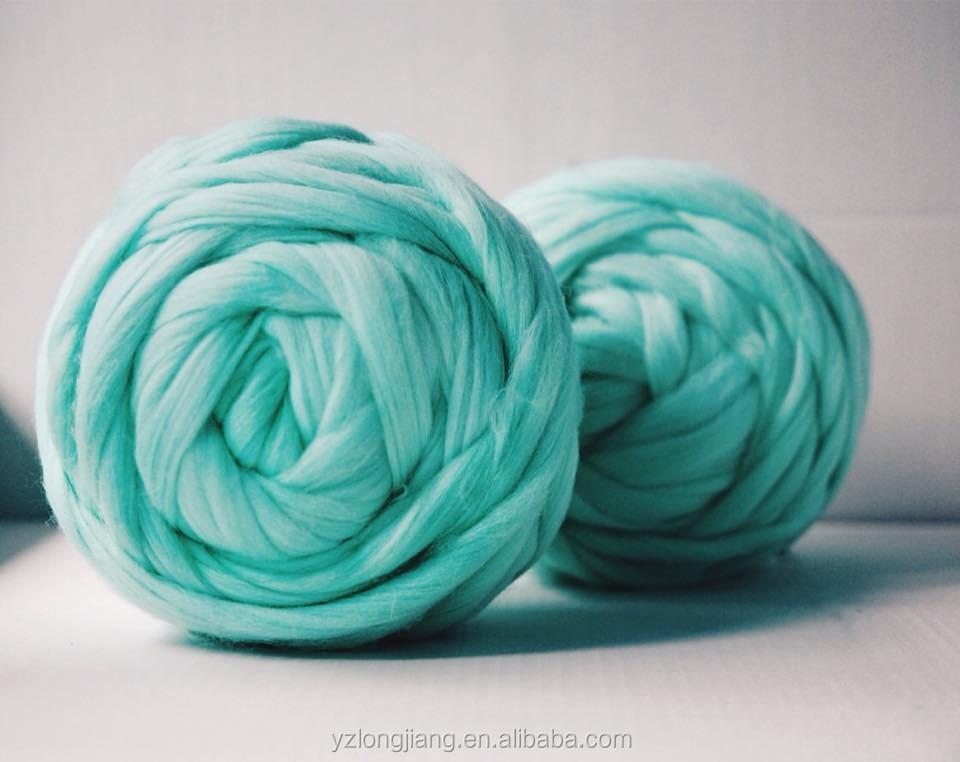 Giant Merino Wool Yarn For Hand Knitting Blanket Pure Wool