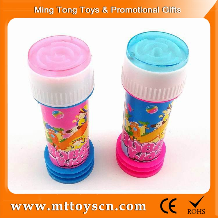 Promotional 30ml with maze game soap bubble toy