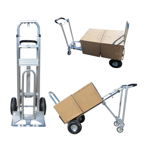 Durable metal folding aluminum push hand truck hand pull cart prices
