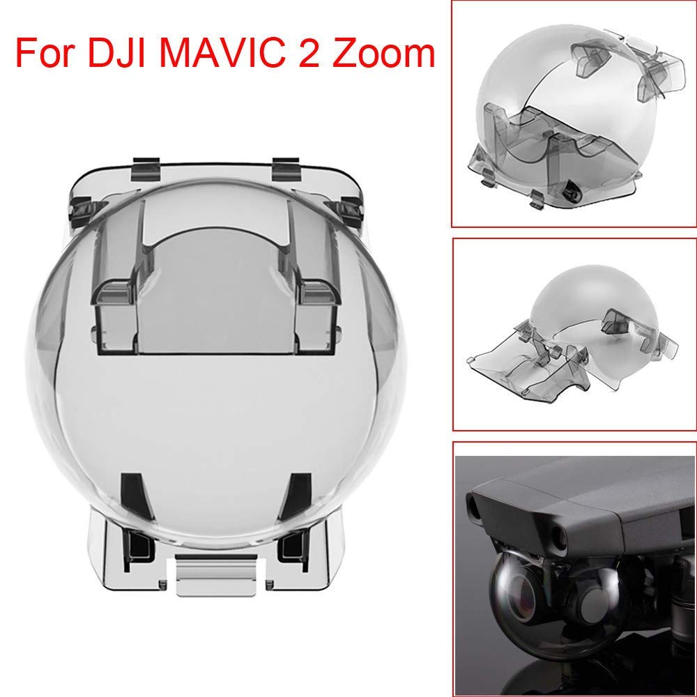 Gbell Gimbal Camera Protector Lens Cover for DJI Mavic 2 Zoom Drone,Drone Camera Protective Cap Shell, Drone Accessories