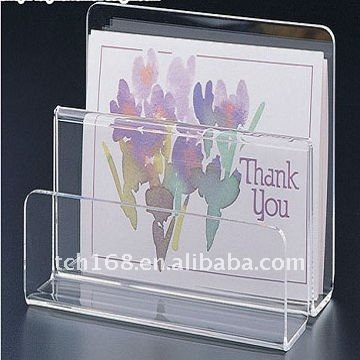 Acrylic magazine display stand perspex brochure holder lucite pamphlet rack