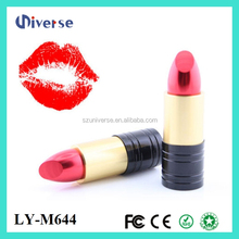 Oem/odm Cheap And Good Quality Wholesale Lipstick Sd To Female Usb/female Nice Lipstick Usb Flash Drive