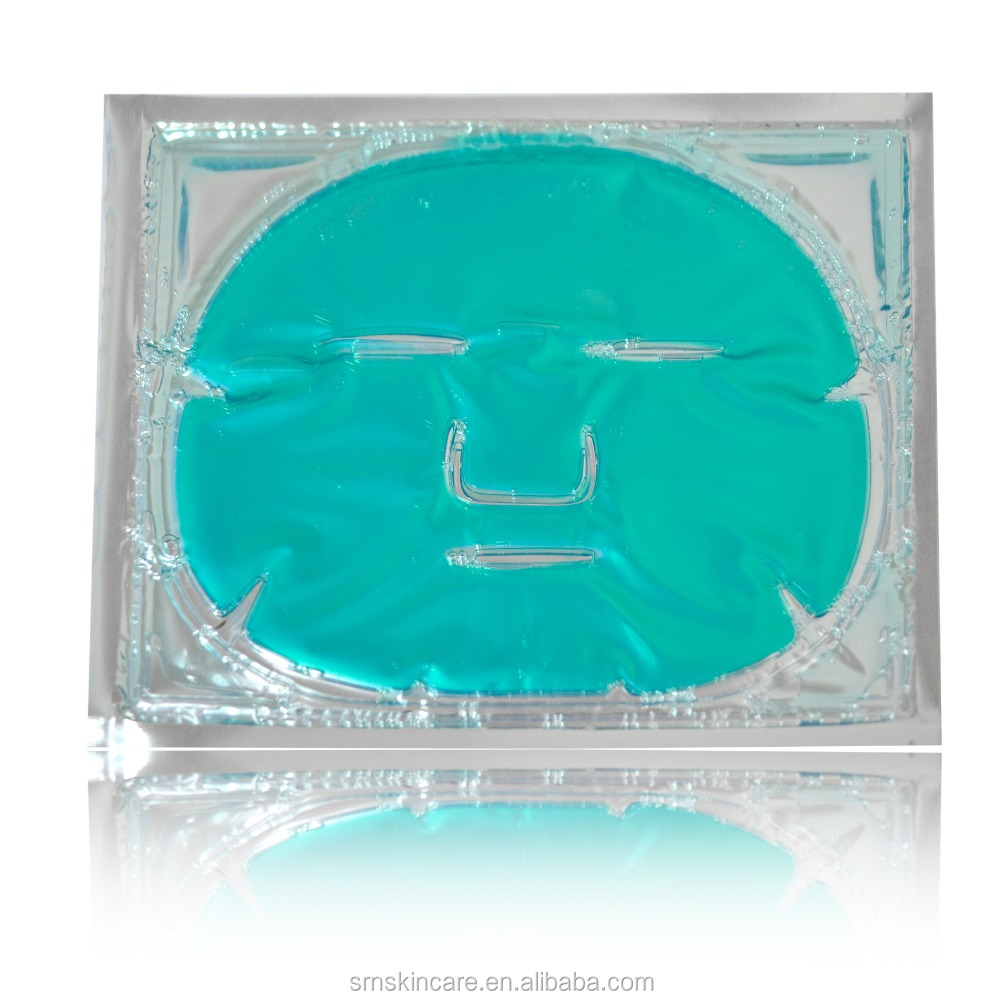 Cucumber mask green collagen crystal fruit facial mask sheet