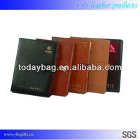 Leather Business Card Organizer Book, Leather Book Holder