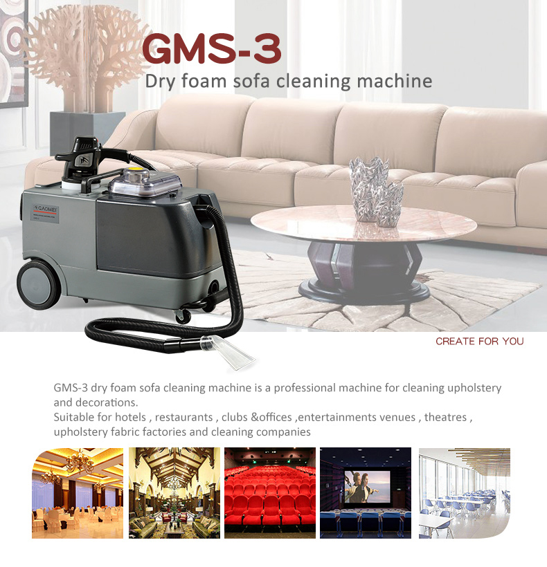 Gms 3 Sofa Carpet Cleaner Upholstery Cleaning Machine Buy Sofa